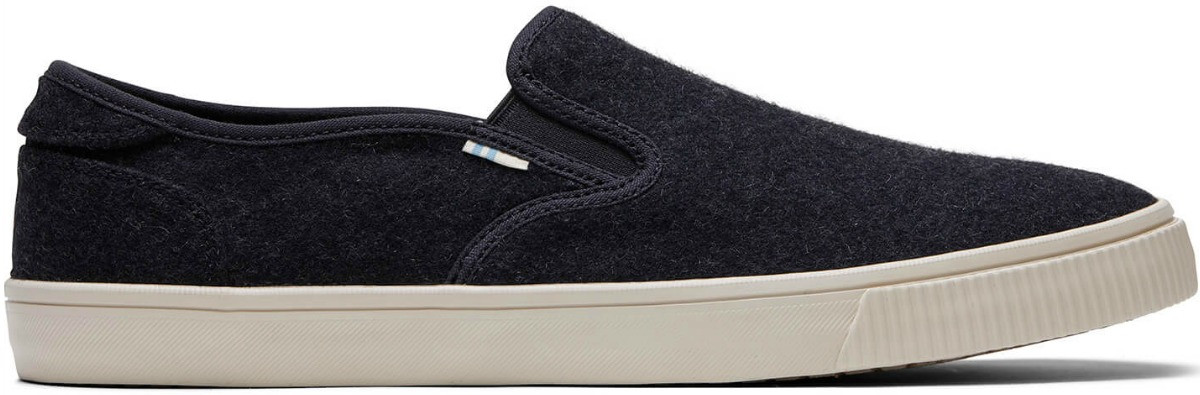 Toms brand canvas style men's shoe in black