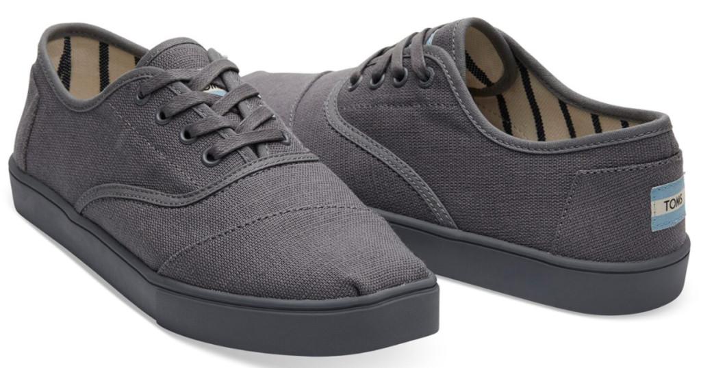 TOMS mens herringbone canvas shoe